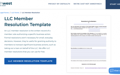 A Beginner's Guide to LLC Member Resolutions